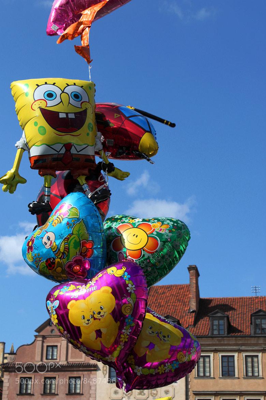 Photograph baloons by Małgosia Szymczyk on 500px