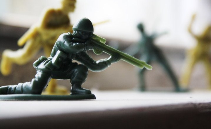 Photograph Toy soldiers by Rion Nicole on 500px