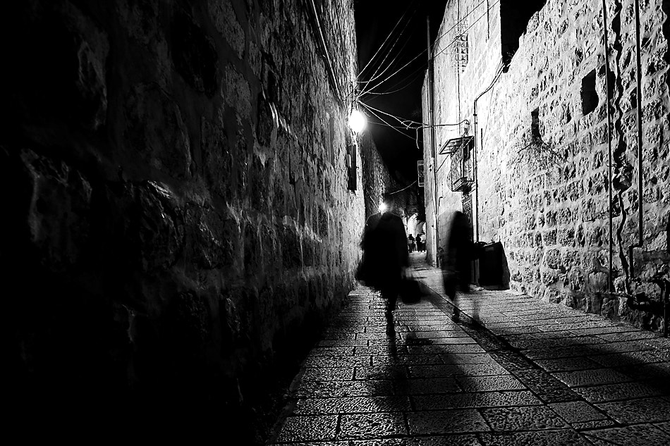 Photograph shadow in the alley by Nissim Bracha on 500px