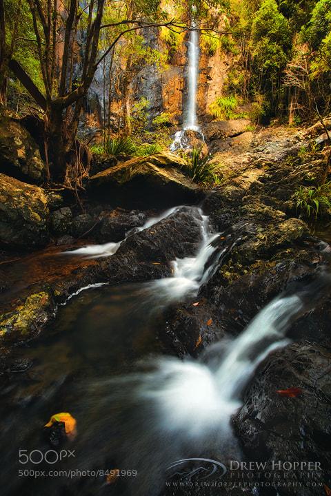 Photograph Woolgoolga Falls Cascades by Drew Hopper on 500px