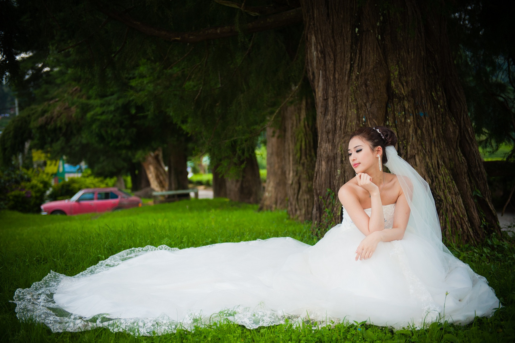Photograph Wedding portraits by Benson Yin on 500px