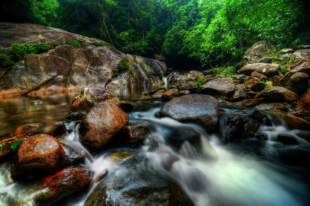 Photograph Stong Stream by engku li on 500px