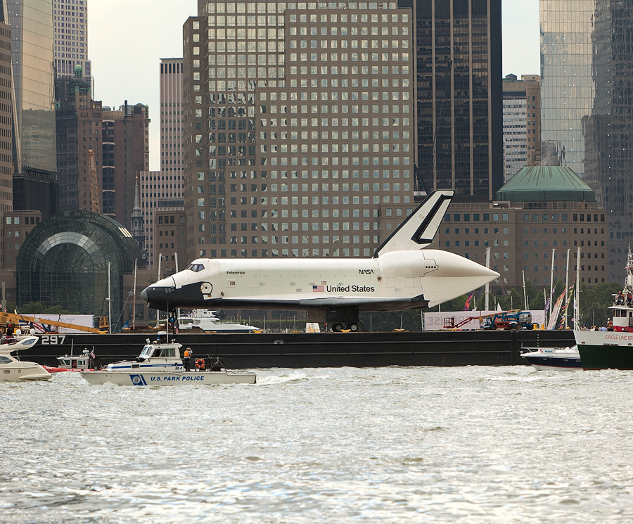 Photograph Space Shuttle Enterprise on its way to the Intrepid Museum by Max Khaskin on 500px