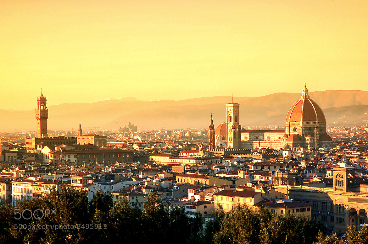 Photograph Aerial view of Duomo Cathedral in Florence Italy  by Phattana Sangsawang on 500px