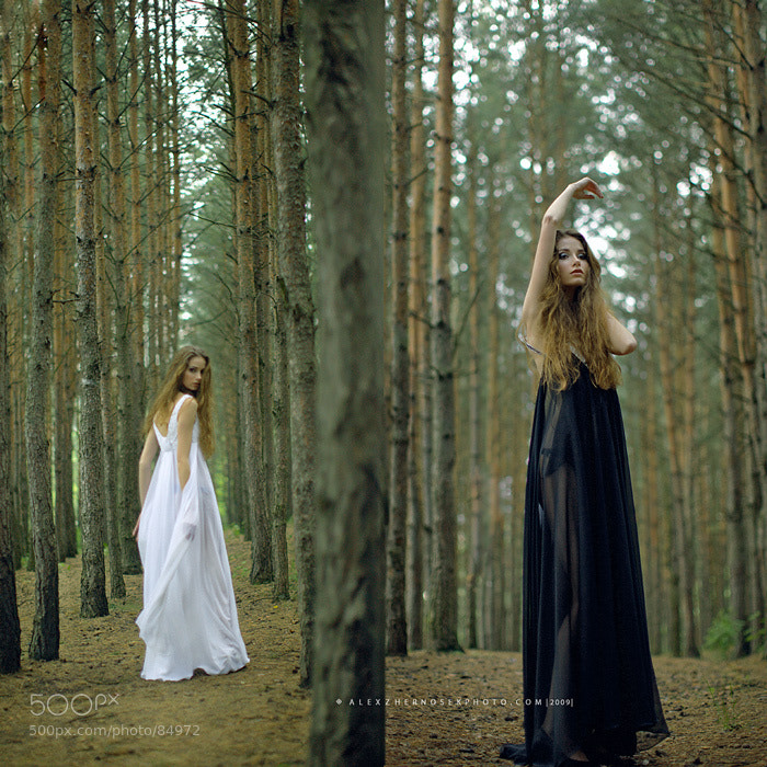 Photograph Forest girl (continued) by Alex Zhernosek on 500px