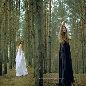 Forest girl (continued) by Alex Zhernosek (Zhernosek)) on 500px.com