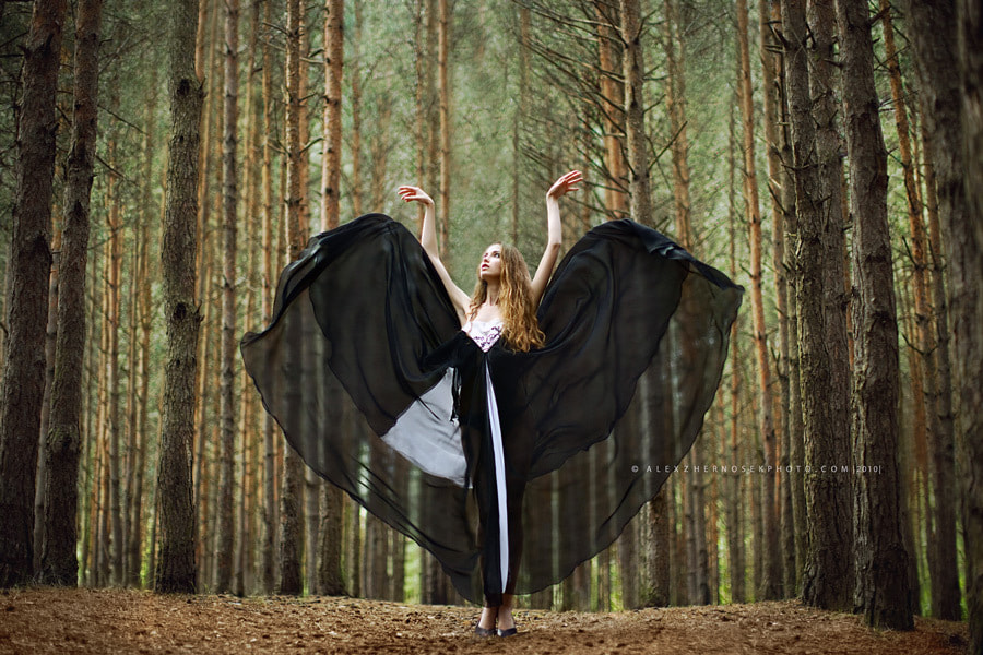 Photograph Forest girl (continued 2) by Alex Zhernosek on 500px