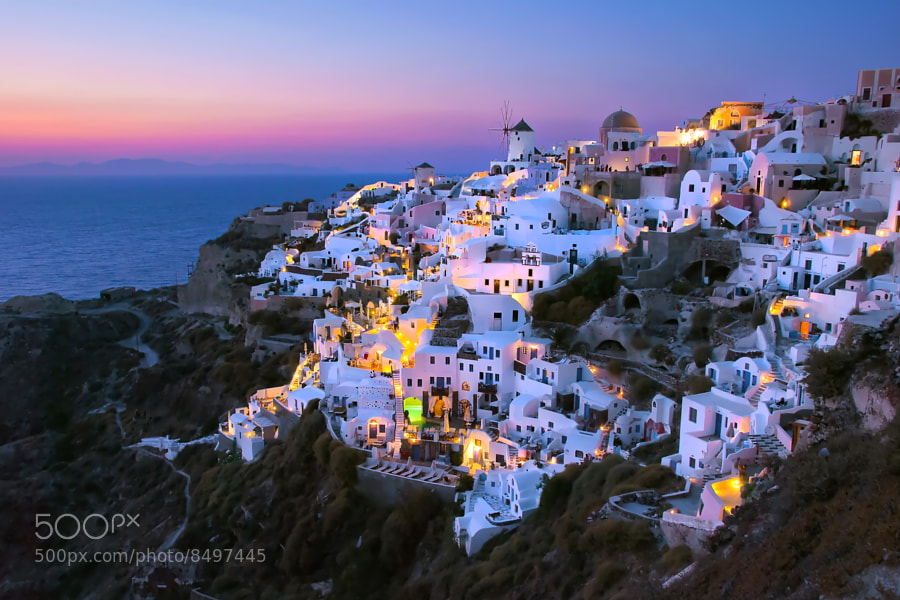 Oia, Santorini, Greece.