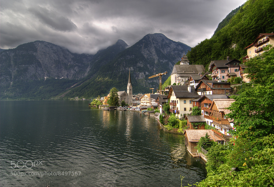 Hallstatt, Austria, Europe.