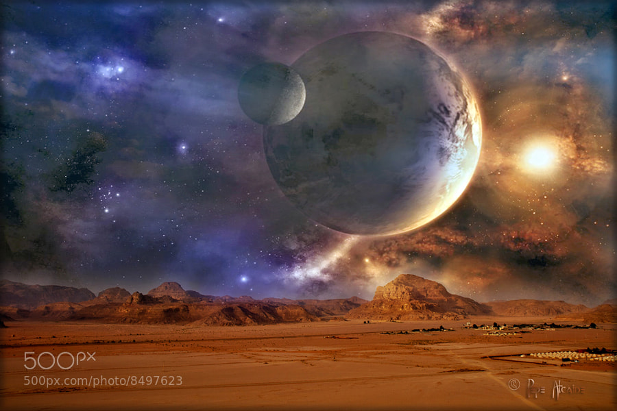 Photograph Planeta extrasolar by Pepe Alcaide on 500px