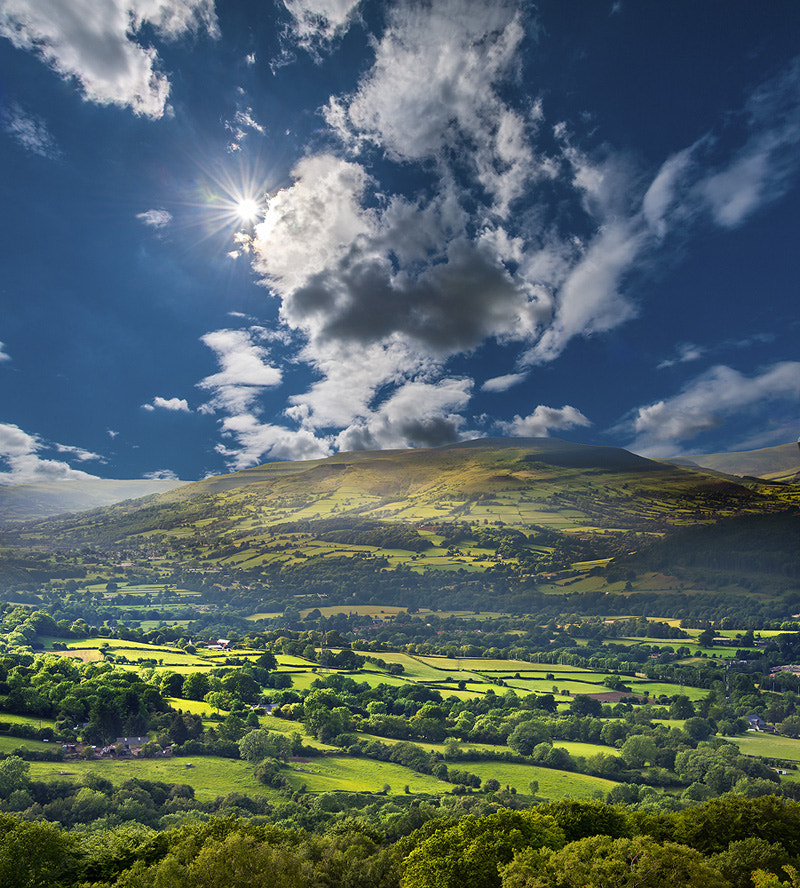 Photograph Brecon Beacons National Park, Wales by skyearth skyice on 500px