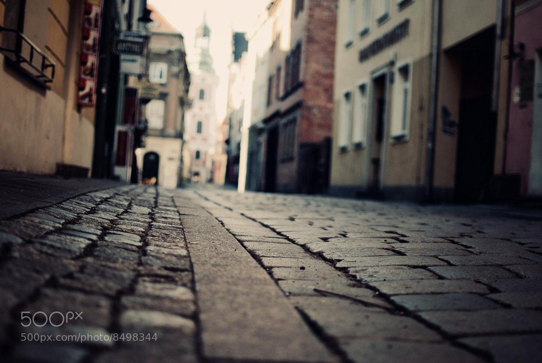 Photograph Klasztorna Street, An intimate encounter by Erik Witsoe on 500px
