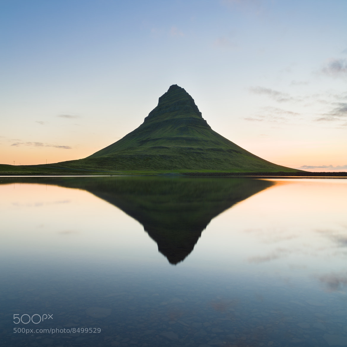Photograph Mt. Kirkjufell by Oscar Bjarnason on 500px
