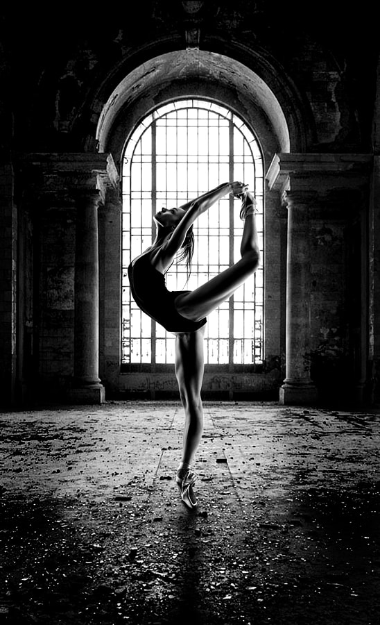 Abandon Building Ballet by Greg Waters on 500px.com