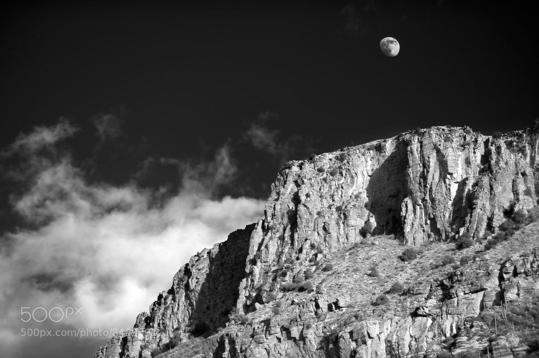 Photograph Sabino Moonrise by David Manzi on 500px
