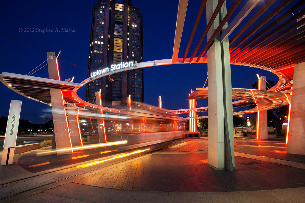 Photograph Uptown Station, Dallas, Texas by Stephen Masker on 500px