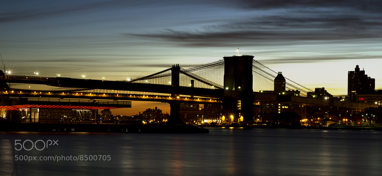 Photograph Brooklyn Bridge by Umberto Federico on 500px