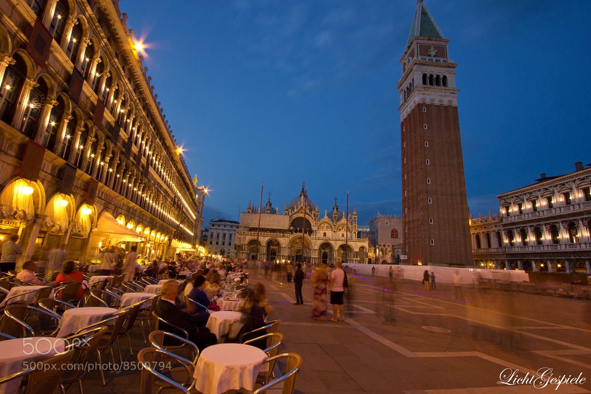 Photograph Nightlife San Marco, Venezia by Stefan Baumann on 500px