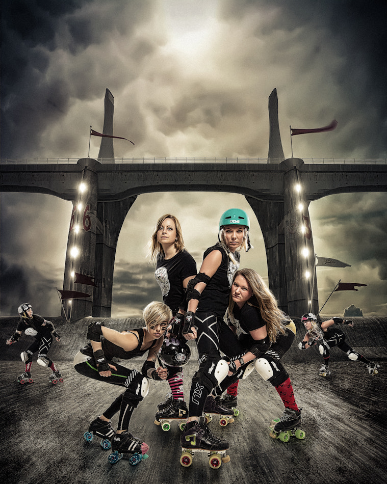 Photograph Rollerderby by Eric Fagerheim on 500px