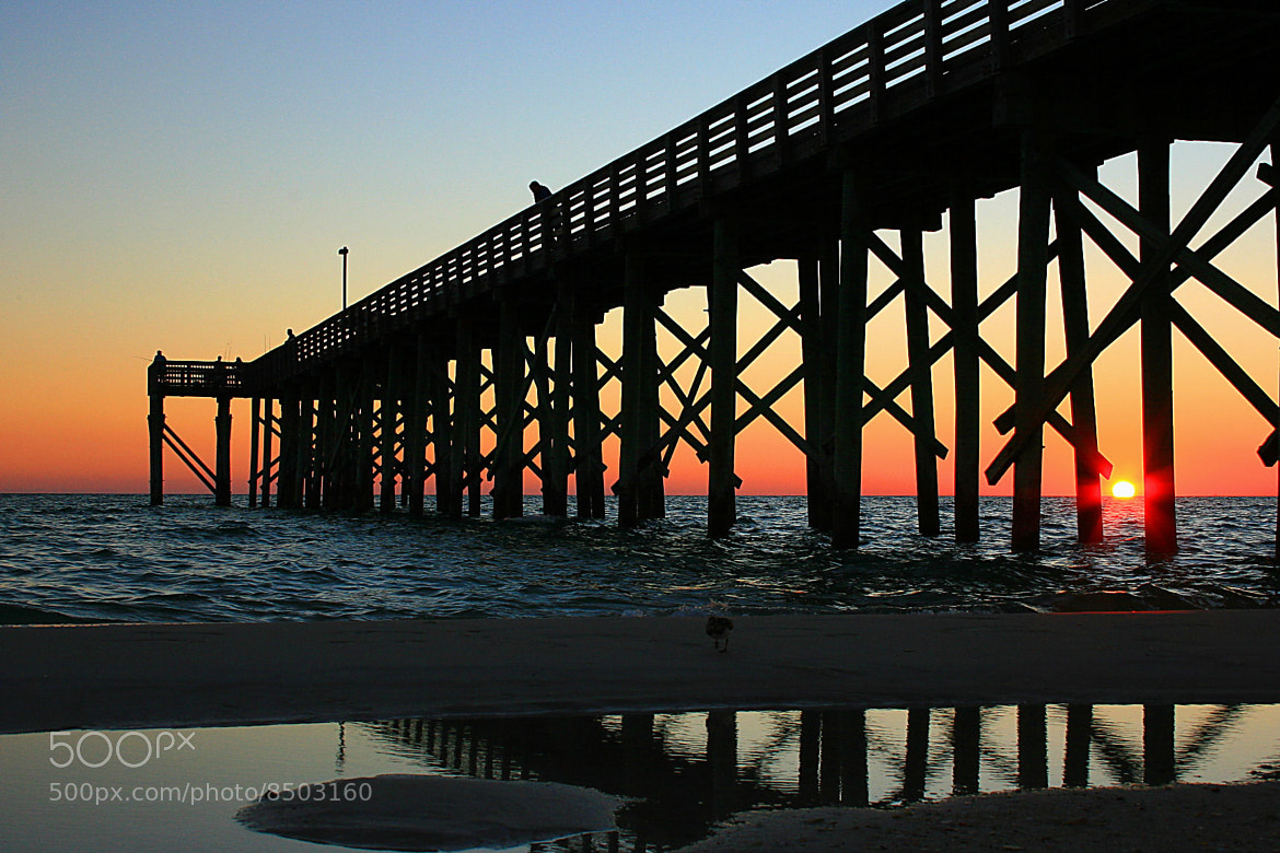 Photograph Pier at Sunset by Teddy  Meeks on 500px