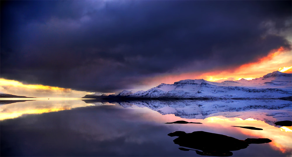 Photograph The power of the winter - meeting in the realm of ice and fire - Iceland by Pati Makowska on 500px