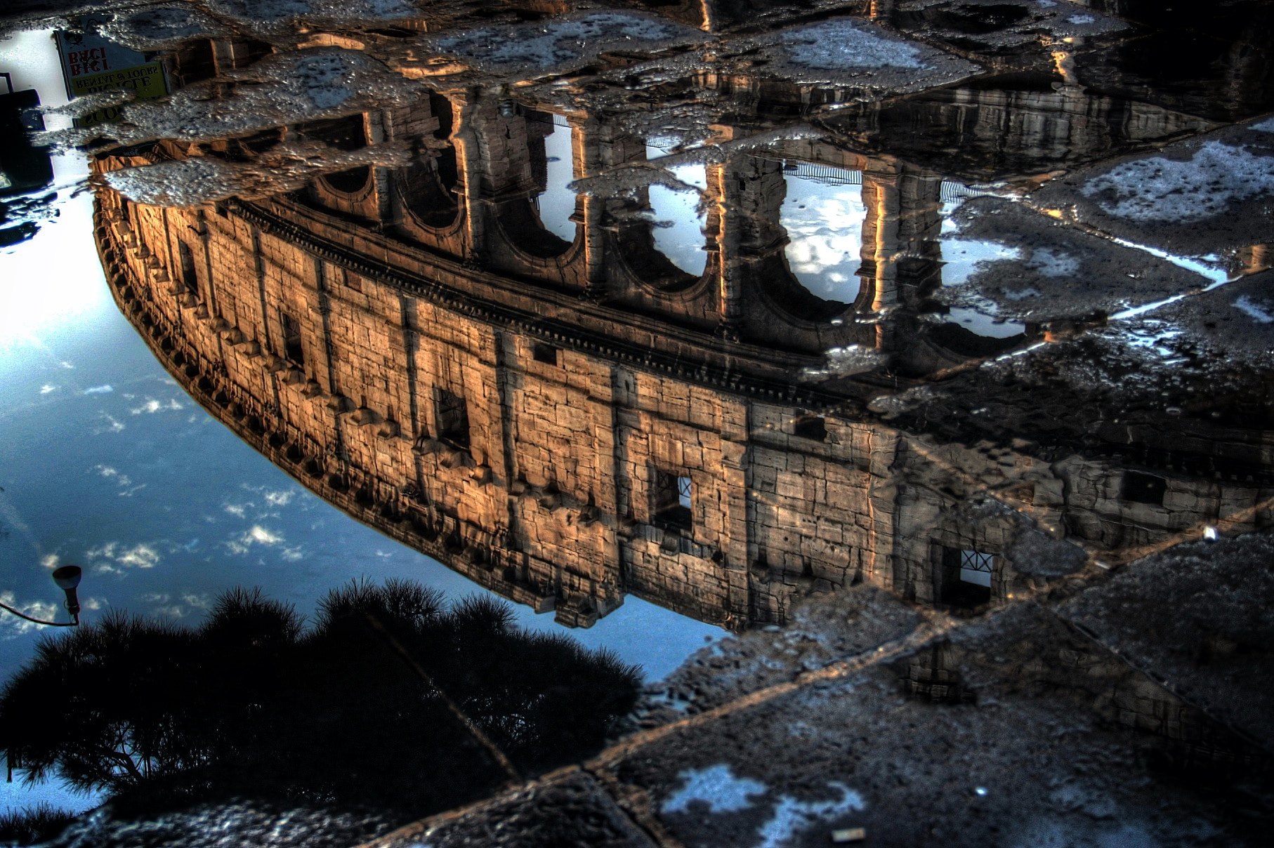 Photograph Riflesso del Colosseo by Luca Cent on 500px