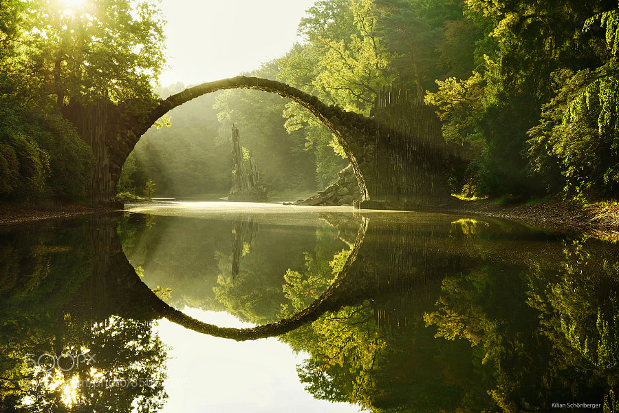 Photograph Hobbit's Bridge by Kilian Schönberger on 500px