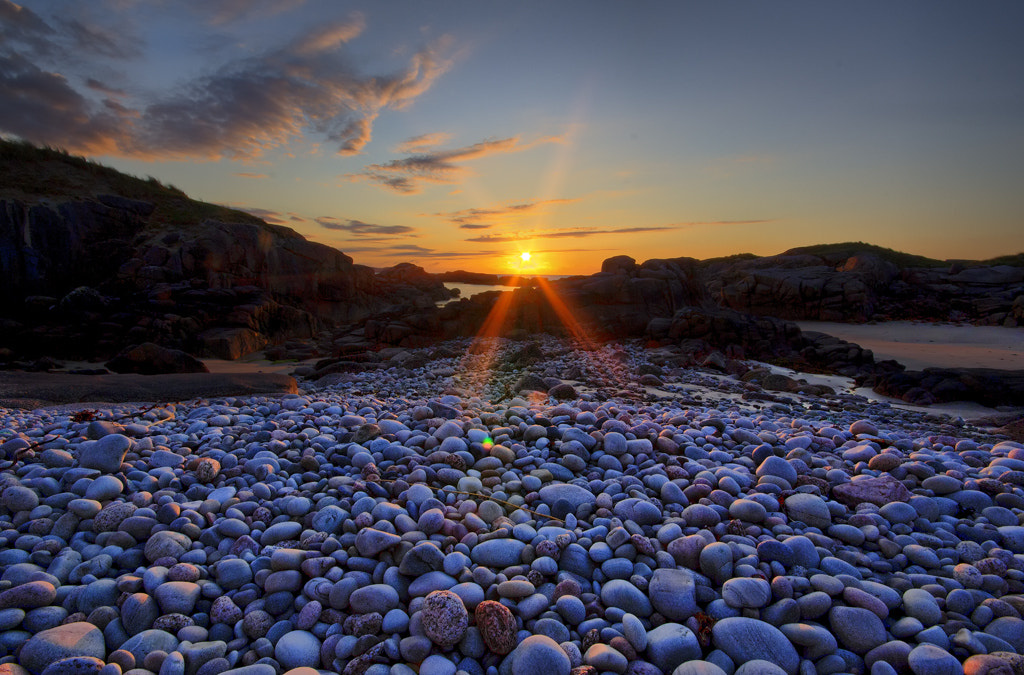 Photograph Sunset Over Pebbles by Kevin Colgan on 500px