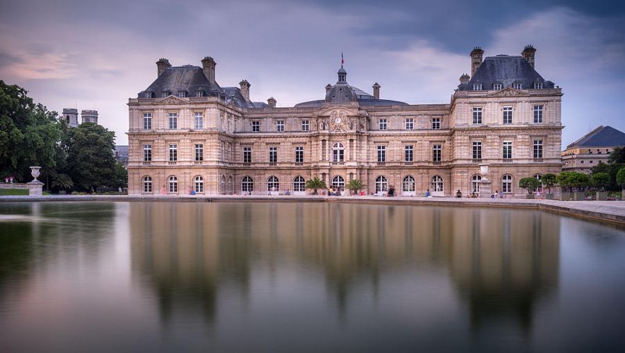 The Luxembourg Garden paris