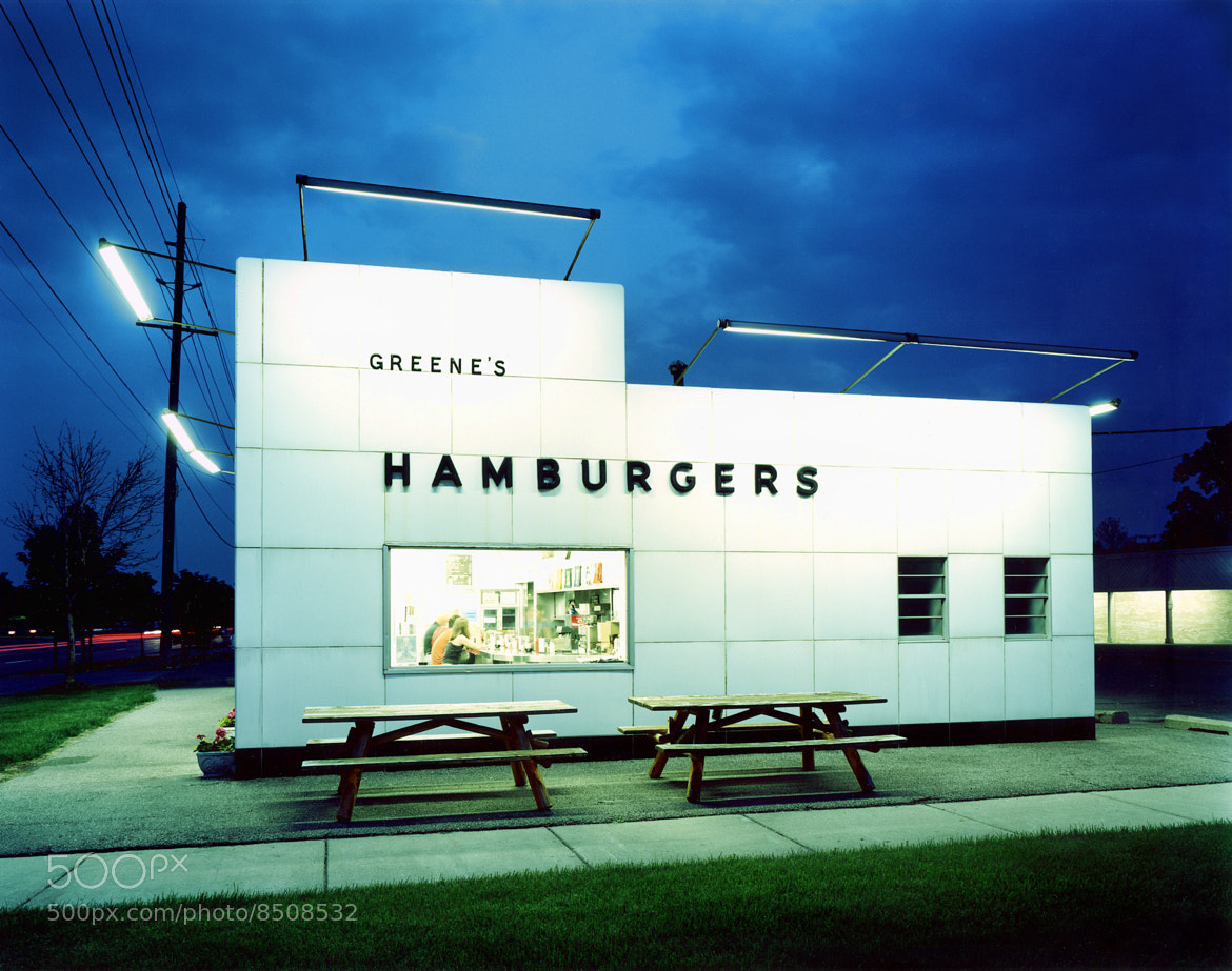 Photograph Greene's Hamburgers, Detroit by Roy Zipstein on 500px