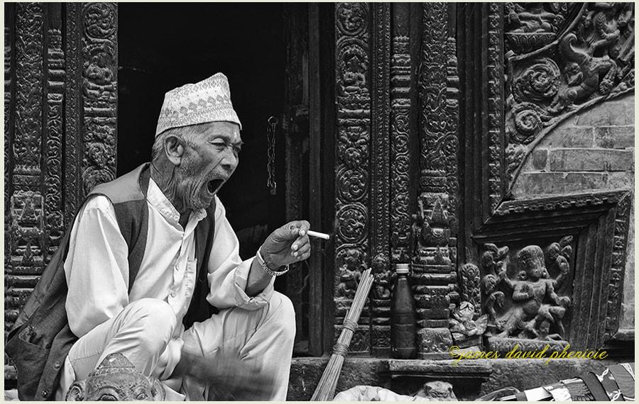 Nepal Series:  A Yawn