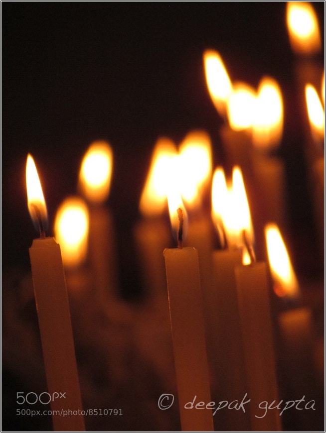 Photograph Nothing But Candles by Deepak Gupta on 500px