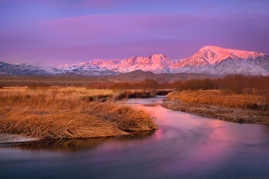 Photograph owens river by Tanja Ghirardini on 500px