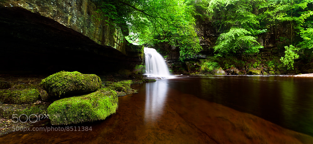 Photograph West Burton Falls by Jason Theaker on 500px