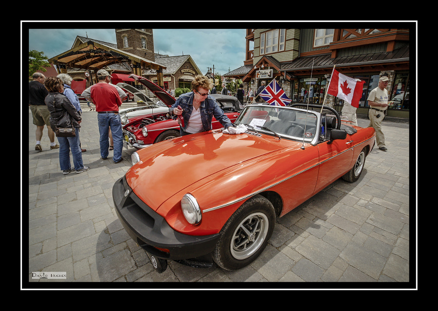 Our 1975 MGB 2011 Collingwood Spring Fling