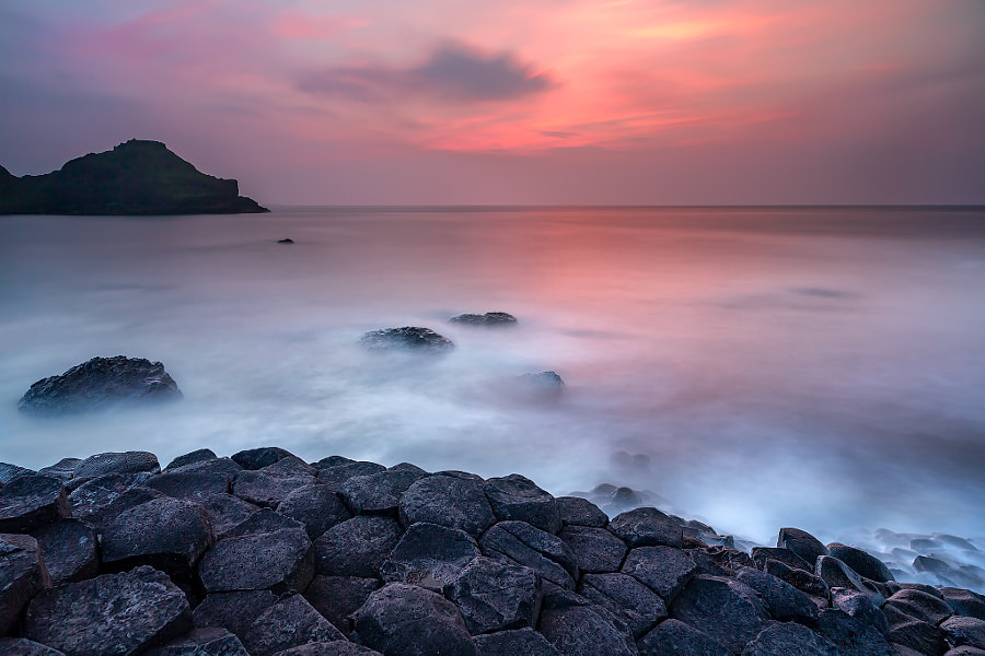 Photograph Causeway Glow by Francesco Gola on 500px