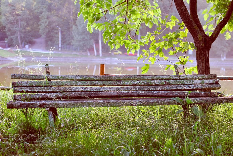 Photograph Old bench by Bogdan Alexandru on 500px