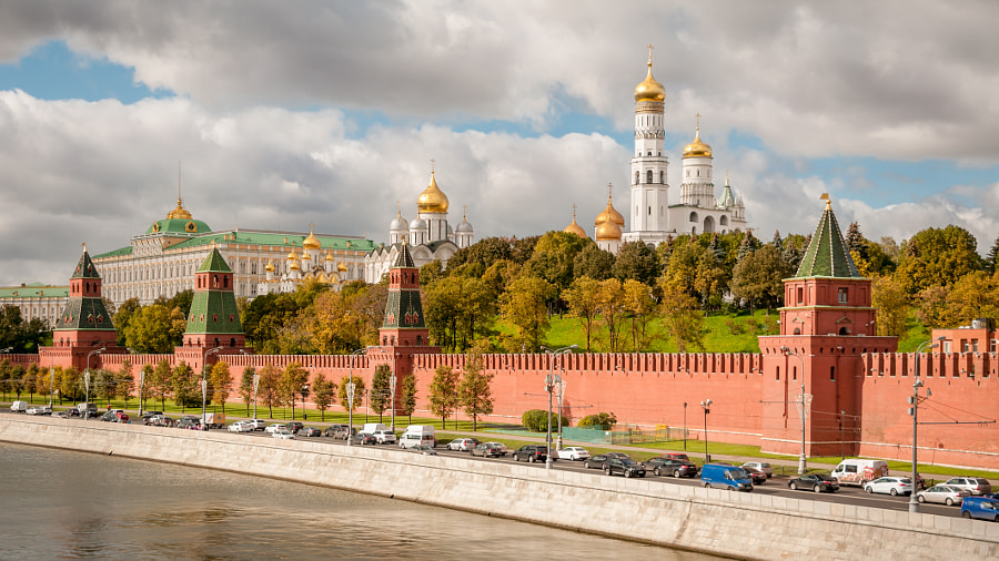 Photograph Moscow Kremlin by Phil Mazur on 500px