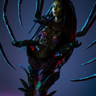 Постер, плакат: Kerrigan Queen of Blades