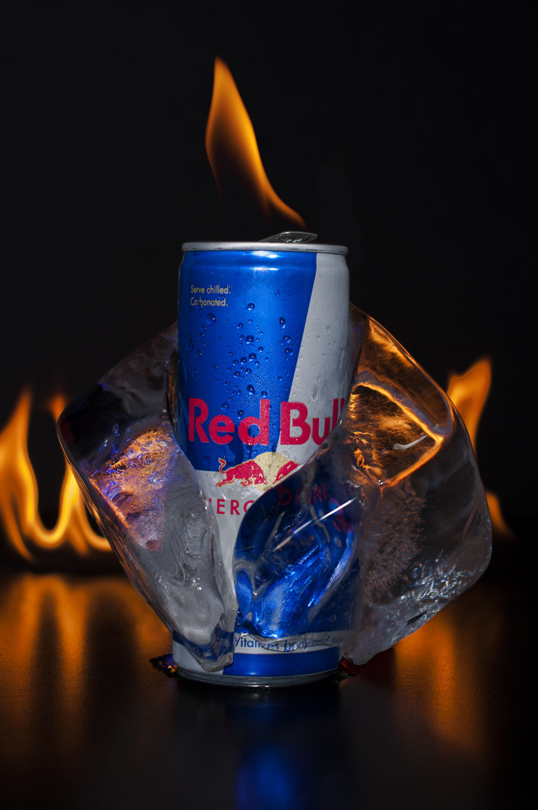 Photograph Red Bull can in Ice cube by Kestutis  Žitinevičius  on 500px