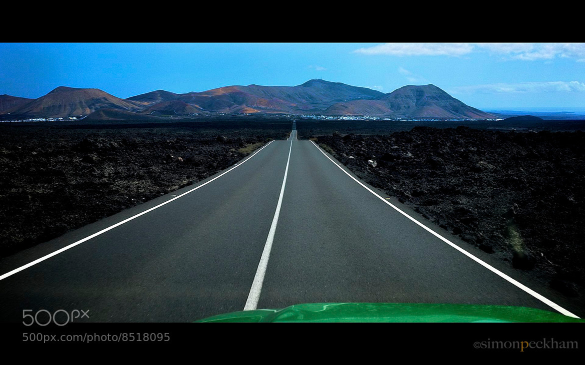 Photograph The long road by simon peckham on 500px