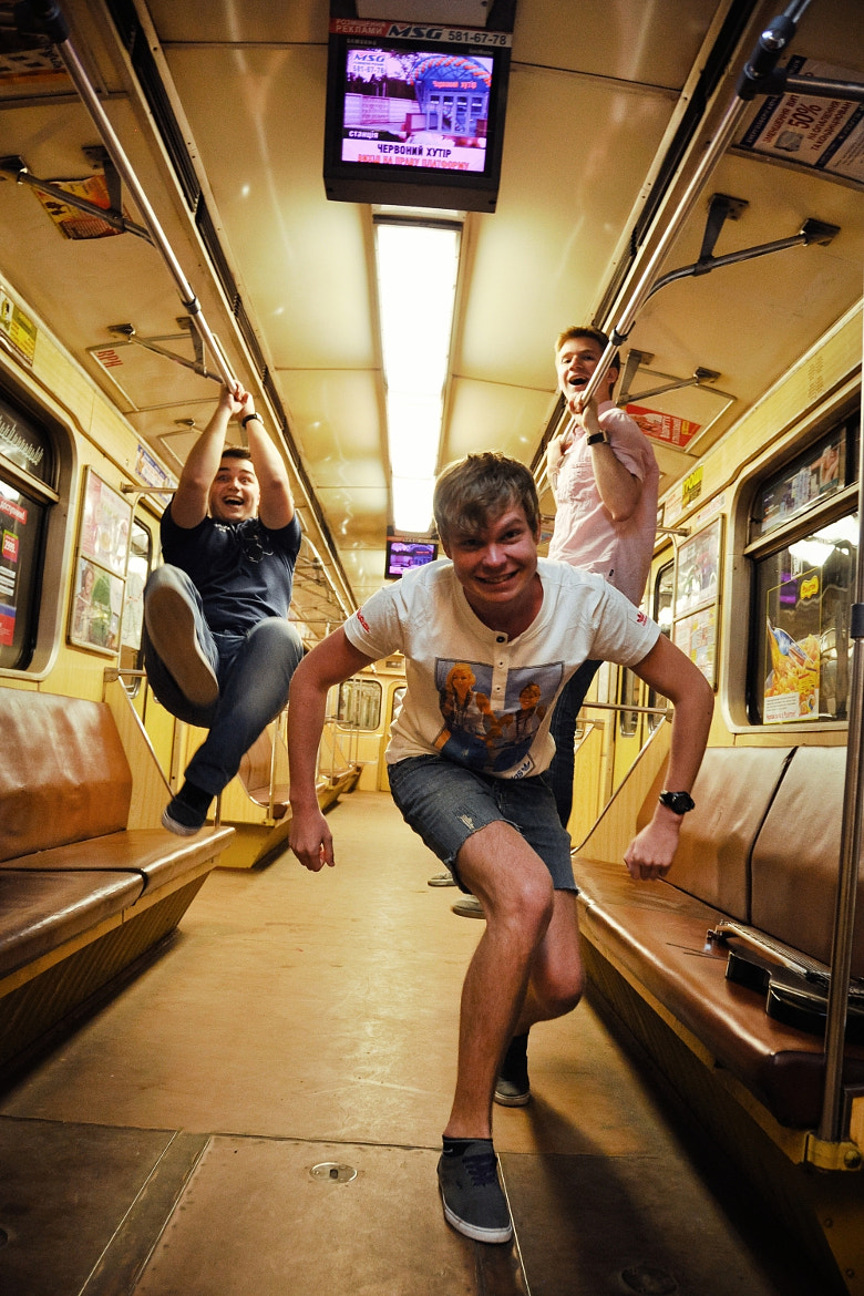Photograph Subway fun by Andrey Baydak on 500px