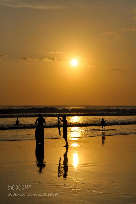 Photograph Golden Sunset at Kuta by Jose Antonio Castellanos on 500px