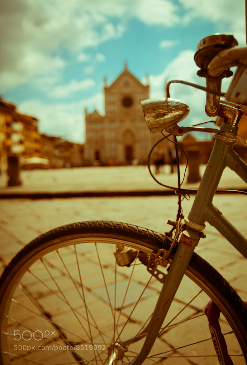 Photograph Church and Cycle by sriram tallapragada on 500px