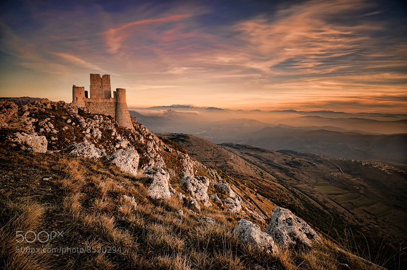 Photograph The King is alone on top of the mountain by Alessandro Petrini on 500px