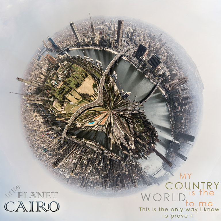 Photograph Little Planet Cairo by Mina Ashraf on 500px