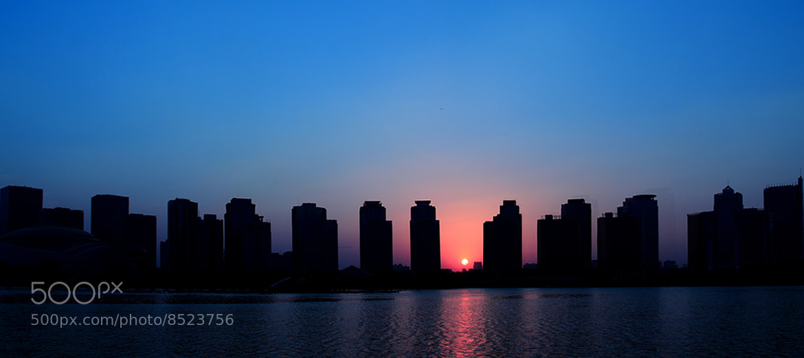 Photograph Sun between the buildings by Perfect _Tz on 500px