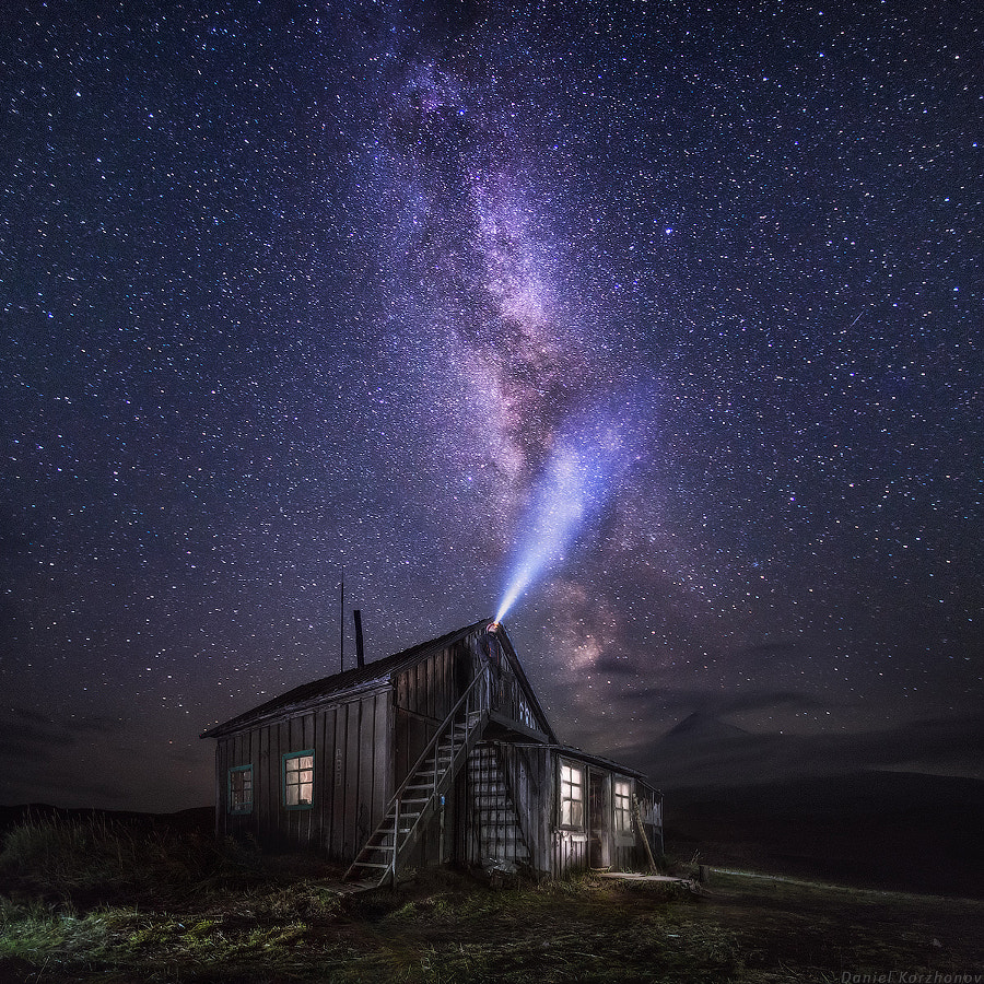Photograph Listen to stars by Daniel Kordan on 500px