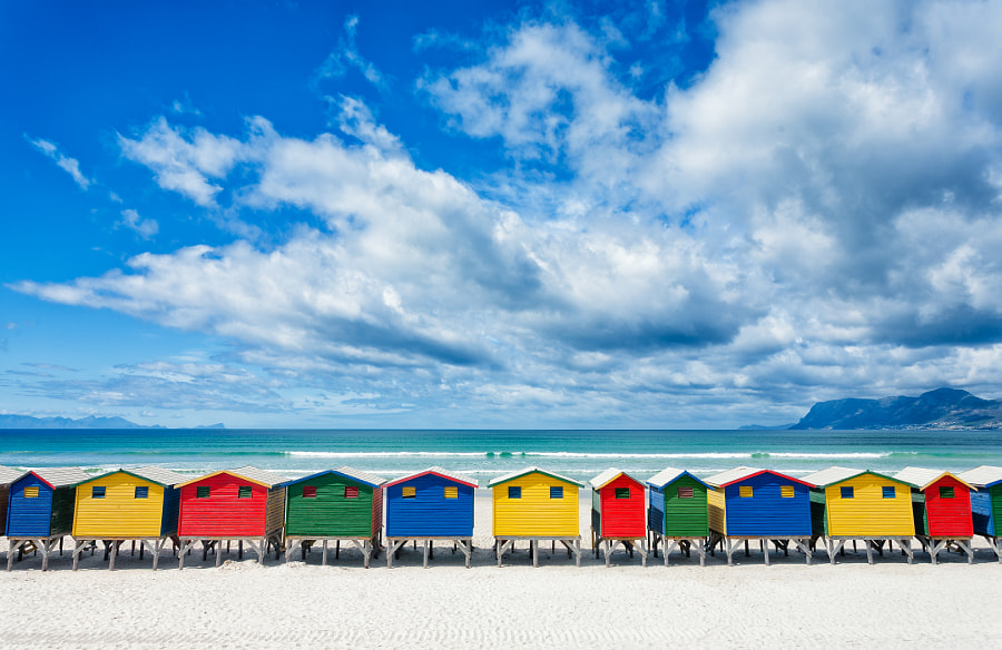 Photograph Muizenberg Vibrance by PJ van Schalkwyk on 500px