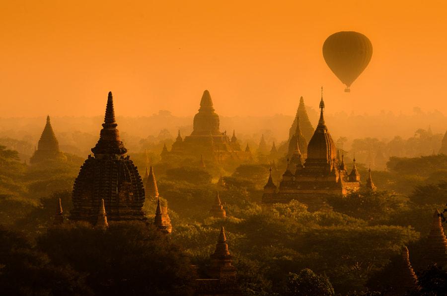Bagan de Nattapon Sritrairat sur 500px.com